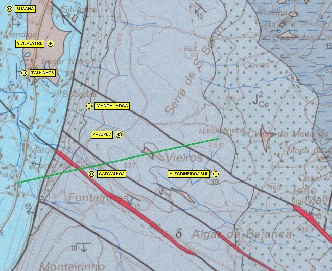 Carta geológica 27-A